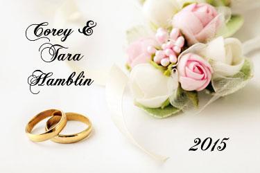 Wedding Slideshow Menu 1